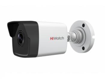 Цилиндрическая IP-видеокамера HiWatch DS-I400(B) (4 mm) 4Мп с EXIR-подсветкой до 30м