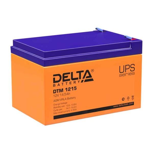 Аккумулятор Delta 12V 14.5Ah DTM 1215