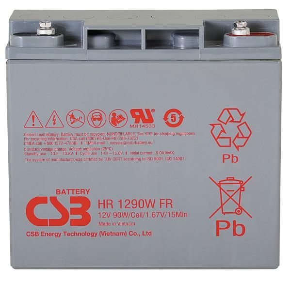 Аккумулятор CSB 12V 18Ah HR1290W