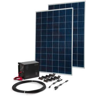 Комплект Бастион Teplocom Solar-800 + Солнечная панель 250Вт х 2