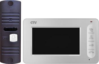 Комплект видеодомофона CTV-DP400 (W/B)