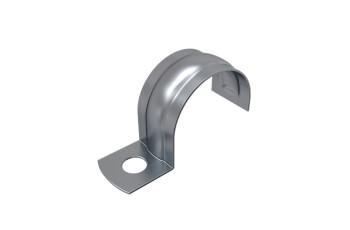 Скоба металлическая однолапковая 25-26 мм ПожТехКабель PTK-Accessories