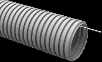 Труба гофрированная IEK ПВХ с протяжкой D= 25мм