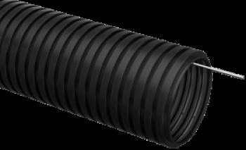 Труба гофрированная ПНД с протяжкой D=16мм (25м)