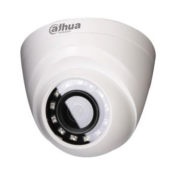 Купольная HDCVI-видеокамера Dahua DH-HAC-HDW1000MP-0280B c ИК-подсветкой до 30 м