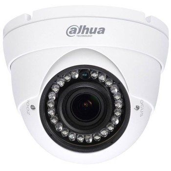 Купольная HDCVI-видеокамера Dahua DH-HAC-HDW1100RP-VF (2.7-13.5mm) с ИК-подсветкой до 30 м