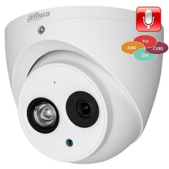 Купольная HDCVI-видеокамера Dahua DH-HAC-HDW1220EMP-A-0360B c ИК-подсветкой до 50м