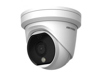 Тепловизионная купольная IP-видеокамера Hikvision DS-2TD1117-6/PA