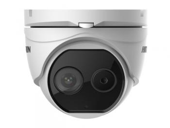 Тепловизионная купольная IP-видеокамера Hikvision DS-2TD1217-6/PA