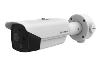Тепловизионная цилиндрическая IP-видеокамера Hikvision DS-2TD2617-3/PA