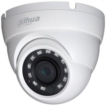 Купольная HDCVI-видеокамера Dahua DH-HAC-HDW1220MP-0280B c ИК-подсветкой до 30м
