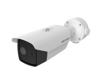 Тепловизионная цилиндрическая IP-видеокамера Hikvision DS-2TD2617-6/PA