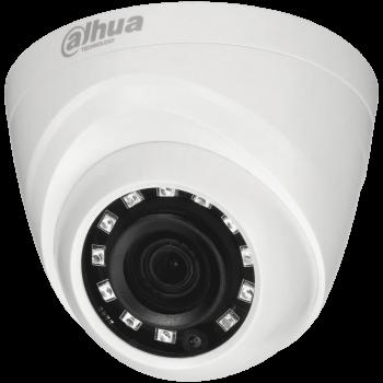 Купольная HDCVI-видеокамера Dahua DH-HAC-HDW1400RP-0280B c ИК-подсветкой до 20 м