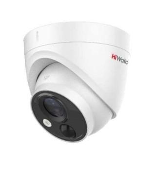 Купольная HD-TVI видеокамера HiWatch DS-T213(B) (3.6 mm) с EXIR-подсветкой до 20м и PIR-датчиком