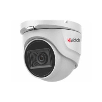 Купольная HD-TVI-видеокамера HiWatch DS-T503 (С) (2.8 mm) с EXIR-подсветкой до 30м