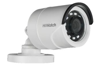 Цилиндрическая HD-TVI видеокамера HiWatch Ecoline HDC-B020(2.8mm) с ИК-подсветкой до 20м