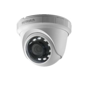 Купольная HD-TVI видеокамера HiWatch Ecoline HDC-T020-P(2.8mm) с ИК-подсветкой до 20м
