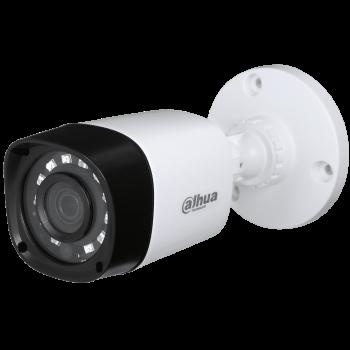 Цилиндрическая HDCVI-видеокамера Dahua DH-HAC-HFW1220RP-0280B с ИК-подсветкой до 20 м