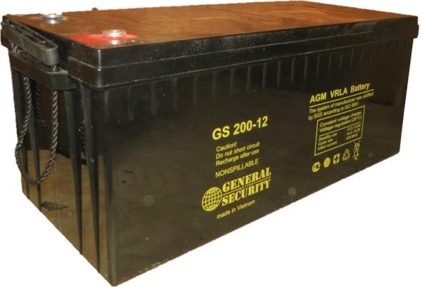 Аккумулятор General Security 12V 200Ah GSL200-12