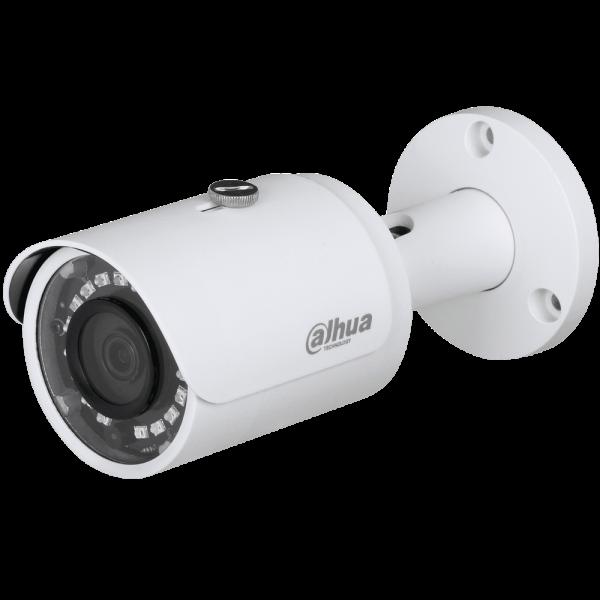 Цилиндрическая HDCVI-видеокамера Dahua DH-HAC-HFW1400SP-0280B с ИК-подсветкой до 30 м