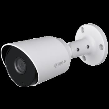 Цилиндрическая HDCVI-видеокамера Dahua DH-HAC-HFW1400TP-0280B с ИК-подсветкой до 20 м