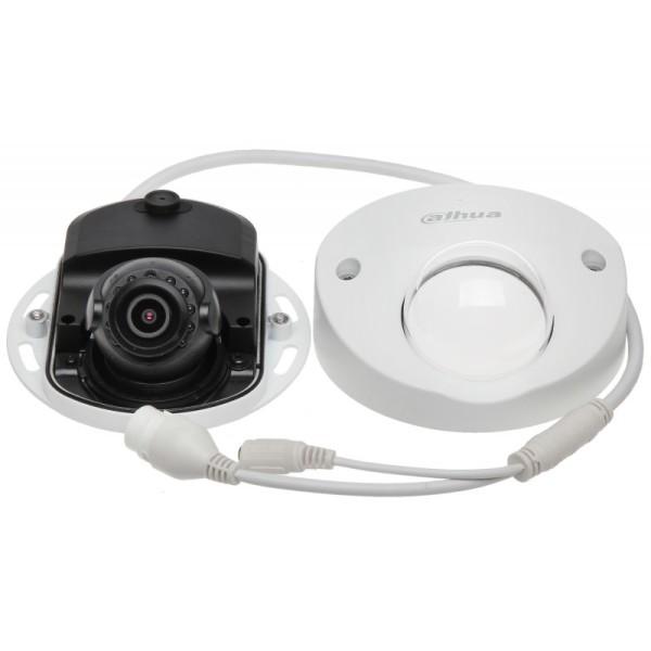 Мини-купольная IP-видеокамера Dahua DH-IPC-HDBW4431FP-AS-0280B с ИК-подсветкой до 20м
