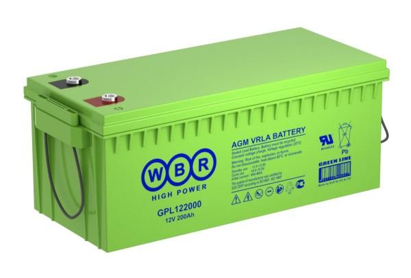 Аккумулятор WBR 12V 230Ah GPL122300