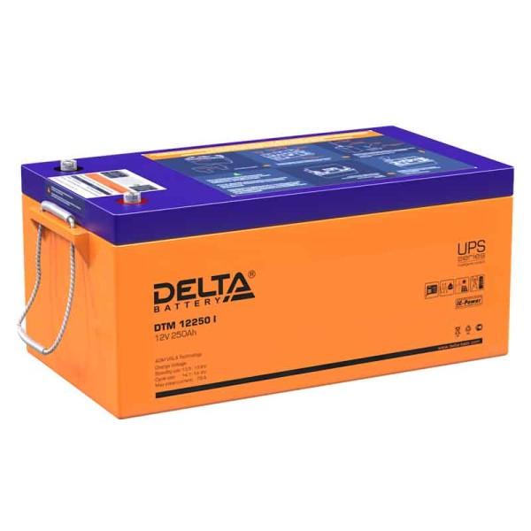 Аккумулятор Delta 12V 250Ah DTM 12250 I