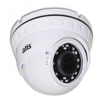 Купольная MHD видеокамера ATIS AMVD-2MVFIR-30W/2.8-12Pro с ИК-подсветкой до 30м