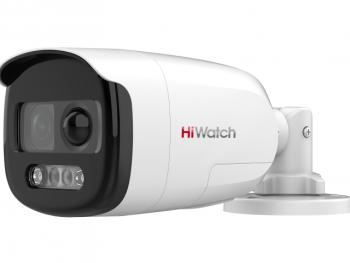 Цилиндрическая HD-TVI видеокамера DS-T210X (2.8 mm) с PIR-датчиком и EXIR-подсветкой до 40м