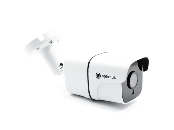 Цилиндрическая IP-видеокамера Optimus IP-E012.1(3.6)P_V.3 с ИК-подсветкой до 45 м