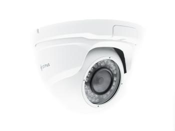 Купольная IP-видеокамера Optimus IP-E042.1(2.8)PE с ИК-подсветкой до 30 м