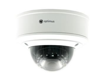 Купольная IP-видеокамера Optimus IP-E045.0(2.8-12)P с ИК-подсветкой до 30 м
