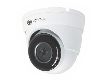 Купольная IP-видеокамера Optimus IP-P042.1(2.8)DF с ИК-подсветкой до 40 м