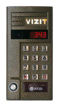 Вызывная панель аудиодомофона Vizit БВД-343RT