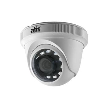 Купольная MHD видеокамера ATIS AMH-EM12-2.8 с подсветкой до 20м