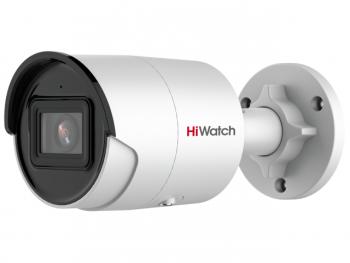 Цилиндрическая IP-видеокамера HiWatch IPC-B022-G2/U (4mm) с EXIR-подсветкой до 40м