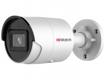 Цилиндрическая IP-видеокамера HiWatch IPC-B042-G2/U (6mm) с EXIR-подсветкой до 40м