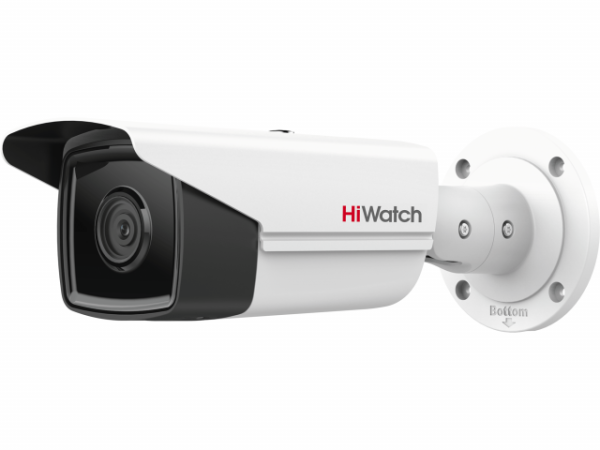 Цилиндрическая IP-видеокамера HiWatch IPC-B522-G2/4I (4mm) с EXIR-подсветкой до 80м