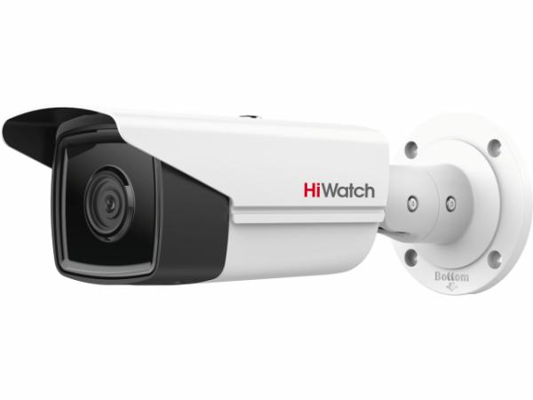 Цилиндрическая IP-видеокамера HiWatch IPC-B522-G2/4I (6mm) с EXIR-подсветкой до 80м
