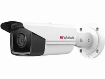 Цилиндрическая IP-видеокамера HiWatch IPC-B542-G2/4I (2.8mm) с EXIR-подсветкой до 80м
