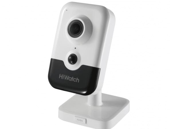 Компактная IP-видеокамера HiWatch IPC-C042-G0 (2.8mm) с EXIR-подсветкой до 10м