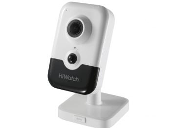 Компактная IP-видеокамера HiWatch IPC-C042-G0/W (2.8mm) с WiFi и EXIR-подсветкой до 10м