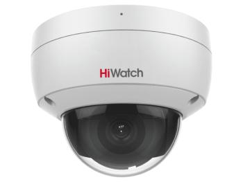 Купольная IP-видеокамера HiWatch IPC-D022-G2/U (2.8mm) с EXIR-подсветкой до 30м