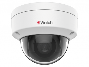 Купольная IP-видеокамера HiWatch IPC-D042-G2/S (4mm) с EXIR-подсветкой до 30м