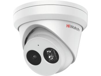 Купольная IP-видеокамера HiWatch IPC-T042-G2/U (2.8mm) с EXIR-подсветкой до 30м