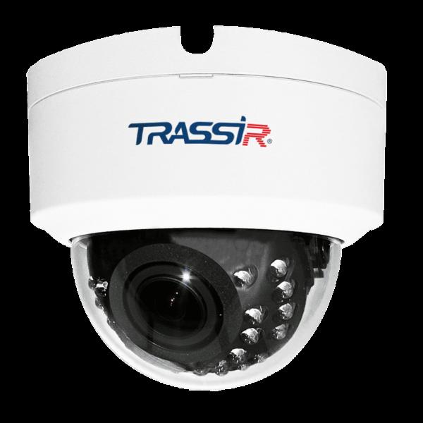 Купольная IP-видеокамера Trassir TR-D4D2 2.7-13.5 с ИК-подсветкой до 25 м
