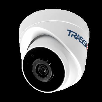 Купольная IP-видеокамера Trassir TR-D4S1 3.6 с ИК-подсветкой до 20 м
