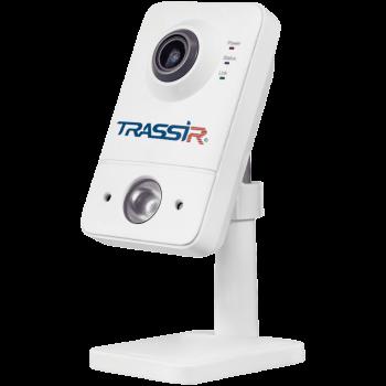 Компактная IP-видеокамера Trassir TR-D7121IR1W v2 2.8 с Wi-Fi и ИК-подсветкой до 10 м