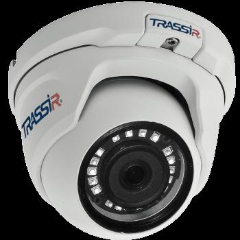 Купольная IP-видеокамера Trassir TR-D8121IR2 v4 3.6 с ИК-подсветкой до 20м